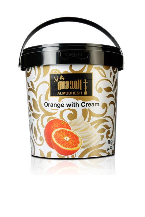 Orange with Cream